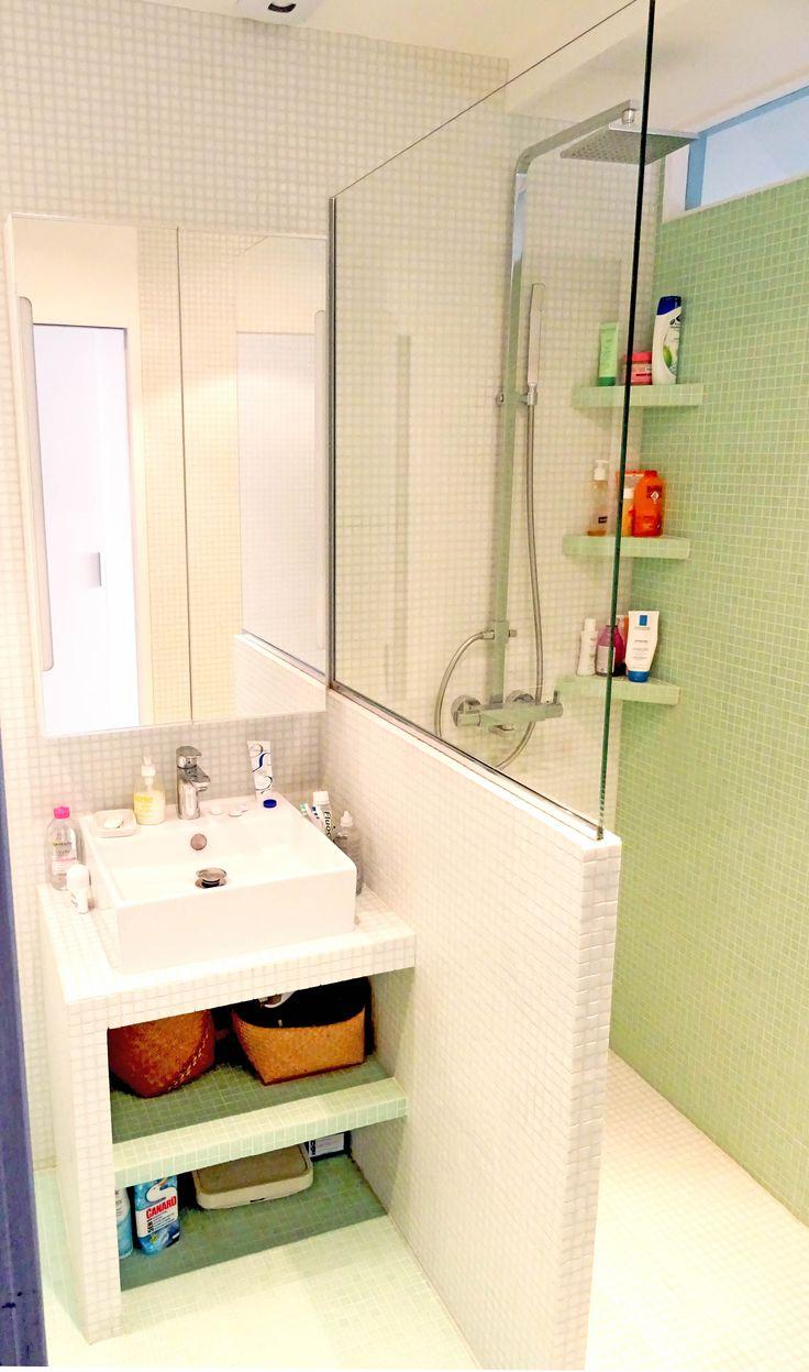 Lame Pvc Salle De Bain Avis ~ am nager une minuscule salle de bain just in diary
